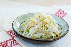 Here is another effortless Korean side dish. This time, it's made with mung bean sprouts (sukju namul). I used its full name here to distinguish them from soybean sprouts (kongnamul), but these sprouts are better known as simply bean sprouts in America – the same sprouts I used for nokdujeon and kimchi mandu.  …