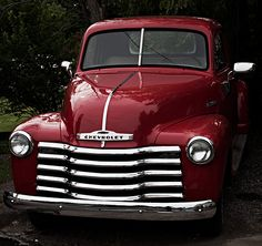 1950s were great for pickups. My cousin ran around in the NC mountains in a candy-apple red beauty named Jessica.