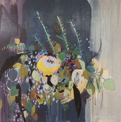 Flowers for Billy 30x30 – Raven Roxanne