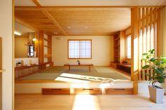 居酒屋風畳ダイニングのある家 | 群馬(高崎・前橋)で自然素材の注文住宅なら四季の住まい