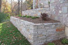 concrete block retainer how to make build external corner