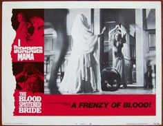 A Frenzy Of Blood! Lobby Card #7, 1974, $8