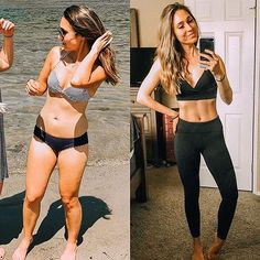 If you've never heard of Kayla Itsines and her BBG fitness programs, you're about to see that this fitness program can yield serious results. Scroll through Kayla Itsines, Fitness Transformation, Transformation Pictures, 12 Week Body Transformation, Fitness Motivation, Weight Loss Motivation, Fitness Goals, Bbg Fitness, Lifting Motivation