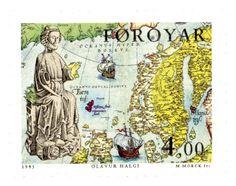 ISLAS FEROE, 1995 San Olaf, Santo Patrón de las Islas Feroe
