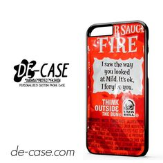 Taco Bell Fire Sauce Iphone Case