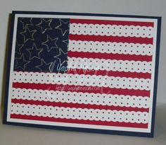 I love patriotic cards