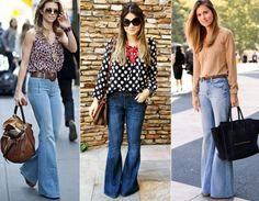 looks de verão com calça jeans para trabalhar