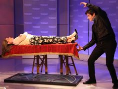 It's magic! David Copperfield helps Natalie float in midair - allDAY - TODAY.com