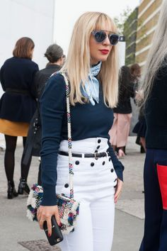 Pin for Later: All the Best Street Style From Milan Fashion Week London Fashion Week, Day 4 Kerry Pieri wearing Westward Leaning.