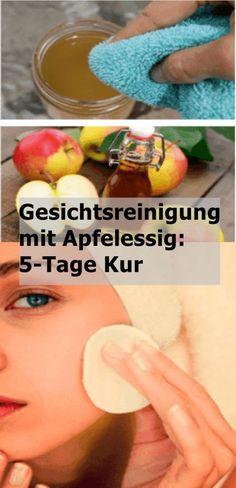 Gesichtsreinigung mit Apfelessig: 5-Tage Kur | njuskam!