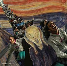 Shusaku Takaoka Edvard Munch - de schreeuw