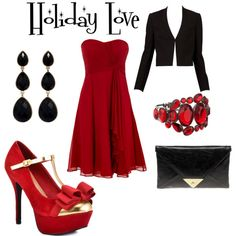 """""""Holiday Love"""" by charitybray on Polyvore"""