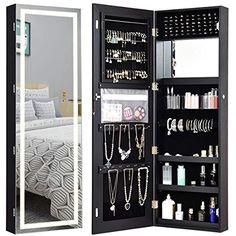 Mirror Jewellery Cabinet, Jewelry Mirror, Jewellery Storage, Jewelry Box, Wall Mounted Jewelry Armoire, Jewelry Holder, Diy Jewelry, Mirror Cabinets, Storage Cabinets