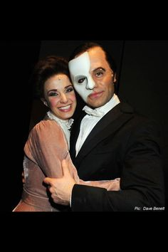 love never dies london| Ramin Karimloo and Sierra Boggess| Christine Daae|Phantom (Erik)