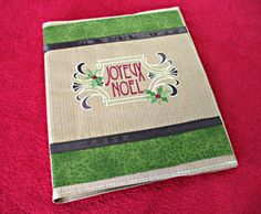 Keep all your recipes tastefully organized with this All Seasons Recipe Book!  Customize your recipe book with your favorite embroidery designs and organize not only recipes but all of your embroidery projects too!