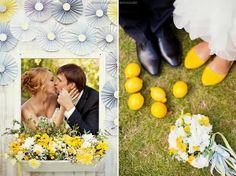 лимонная свадьба  #wedding #yellow
