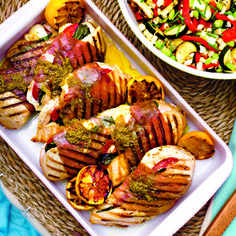 Stuffed Chicken Caprese turns your favorite summer salad into a full meal!
