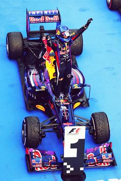 "Malaysian GP 2013 - Sepang - Red Bull F1 Team - ""The King"" Sebastian Vettel wins with OZ Racing Wheels #OZRACING"