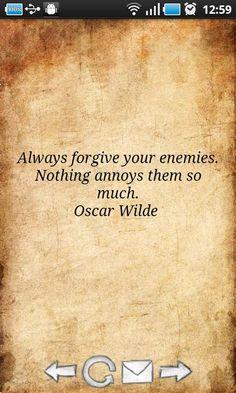 oscar wilde// it's true..