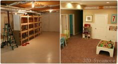 This blog has some great before and after photos if home decor/updating.