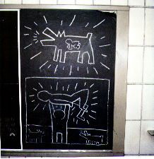 Keith Haring, Untitled (Radiant Baby, Barking Dog, Atomic ...