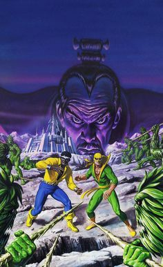 Power Man and Iron Fist by Bob Larkin