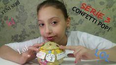 LOL Surprise Series 3 Confetti Pop Big Sisters (kendi yaptığım) Türkiye'...  Türkiye'de ilk lol surprise confetti pop açılımı yaptım çok mutluyum