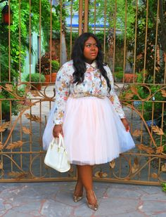 Musings of a Curvy Lady, Plus Size Fashion, Fashion Blogger, Cool Gal Blue, Traveling Tutu, Tutu, Women's Fashion, Style Hunter, The Outfit