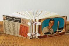 Vintage baseball card book