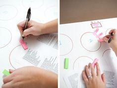 Une fois la liste des invités bouclée, il vous faudra placer les invités, voici un tutoriel qui vous permettra de faire un plan de table facilement avec...