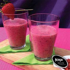 Berry smoothie with yogurt