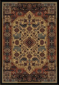 Inspiration Area Rug Western Rugs   Traditional Pattern Crafted Of Premium  Nylon Fiber. Rug Offers