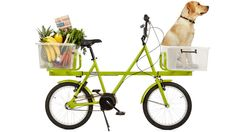The Pickup Truck of Bikes Laughs at Handlebar Baskets.