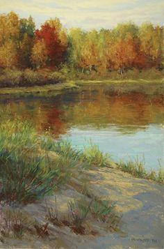 Autumns Beauty by Kathleen Kalinowski Pastel ~ 18 x 12