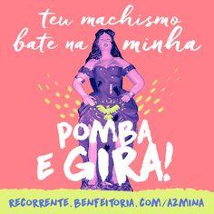 Revista AzMina - para mulheres de A a Z | Recorrente: financiamento contínuo