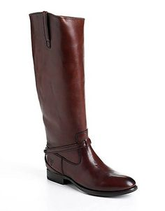 FRYE Lindsay Plate Leather Boots
