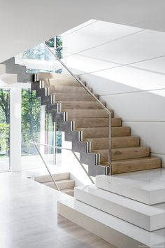 The Edition of Boston Design Guide features the top home industry professionals in New England. New England Homes, New Homes, Modern Interior Design, Interior Architecture, Pakistan Home, Home Stairs Design, Modern Stairs, House Stairs, Construction