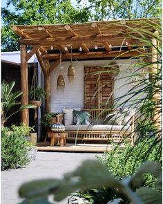Outdoor Rooms, Outdoor Living, Outdoor Decor, Pergola Patio, Backyard Landscaping, Backyard Playground, Garden Inspiration, Boho Garden Ideas, Dream Garden
