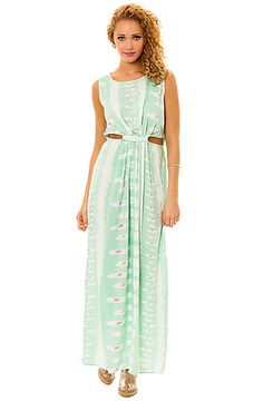 The You Know What It Is Dress in Green by *NYC Boutique