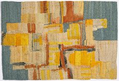 Mead Cloth by Matthew Harris. Dyed and painted handstitched cloth.