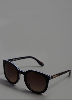 Vivienne Westwood Thick Sunglasses - Brown/Purple