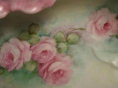 Soft handpainted roses