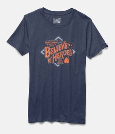 7689ece7 Women's UA WWP Believe In Heroes Short Sleeve | Under Armour US Christmas  Wishes, Ua