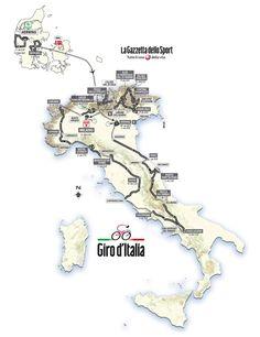 Als ik met pensioen ga volg ik liever de Giro dan de Tour. Uci World Tour, World Most Beautiful Place, Top Ride, All About Italy, Top Tours, Bike Poster, Road Cycling, Cycling Tours, Get Outside