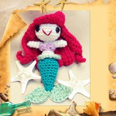 Little Mermaid - Crochet creation by Alana Judah