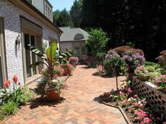Investigate your choices for brick paver patios, and get inspiration from great pictures from HGTVRemodels.