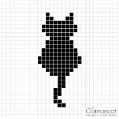 ideas crochet cat pillow pattern tutorials for 2019 Small Cross Stitch, Cross Stitch Flowers, Modern Cross Stitch, Cross Stitch Designs, Cross Stitch Patterns, Cross Stitch Charts, Cat Cross Stitches, Cross Stitching, Cross Stitch Embroidery