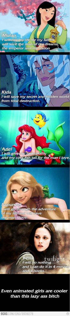 Animated Girls Better Than Twilight