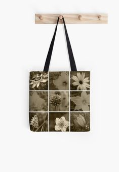 A montage of beautiful blooms in sepia. • Millions of unique designs by independent artists. Find your thing. Canvas Prints, Art Prints, Cotton Tote Bags, Floor Pillows, Amazing Photography, Chiffon Tops, Finding Yourself, Classic T Shirts, Artists