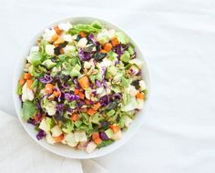 This detox salad is glow-worthy and meal-worthy! You'll have plenty of leftovers to last the week!